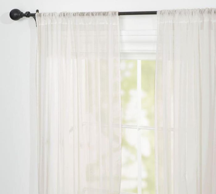 Classic Voile Sheer Pole Pocket Drape