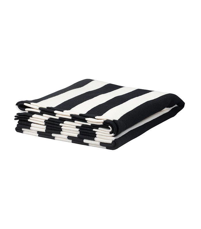 IKEA Striped Knit Throw