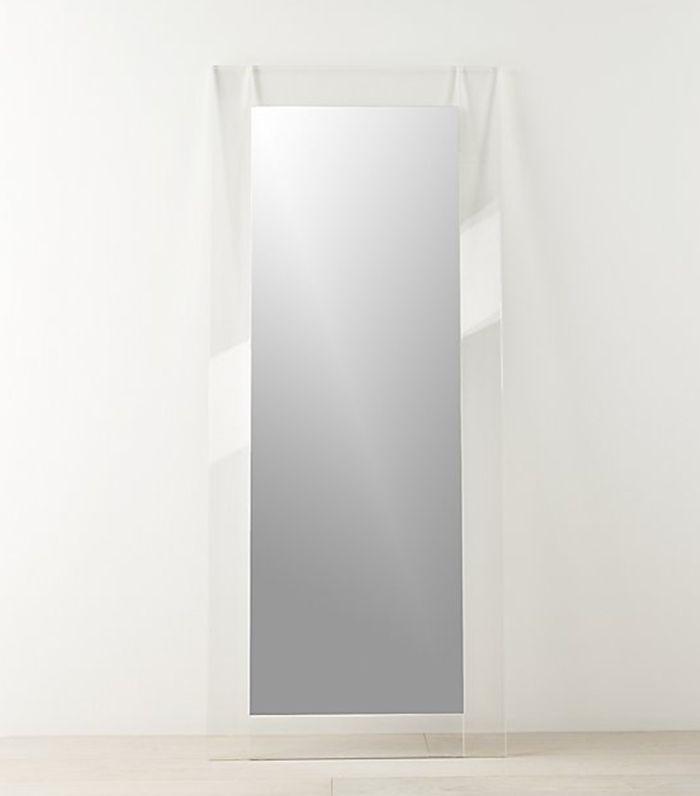 "CB2 - Espejo de piso de acrílico, 32 ""x76"""