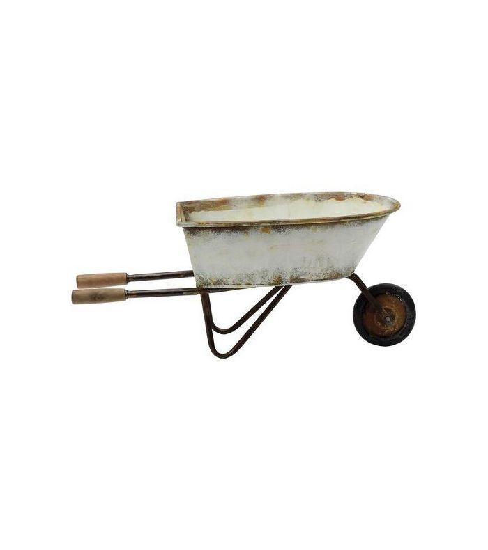Target Decorative Metal Wheel Barrow