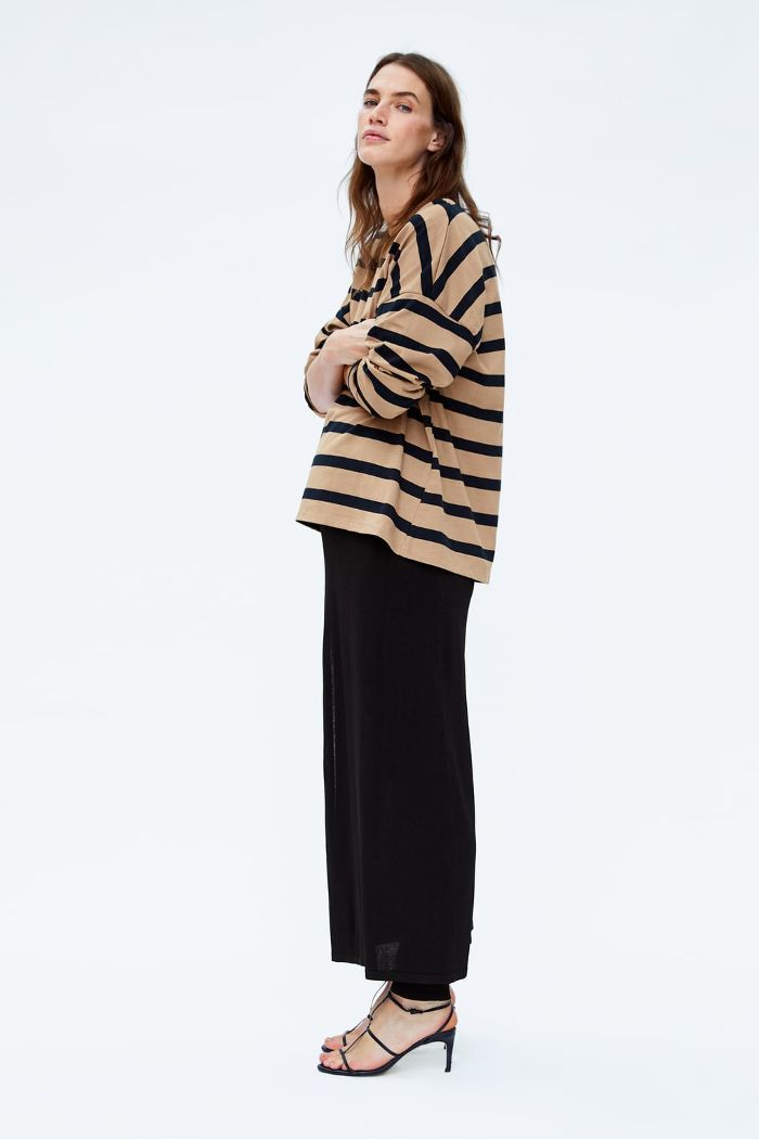 5a0db2c10d9ec Zara Just Launched a Maternity Line and It's Insanely Chic