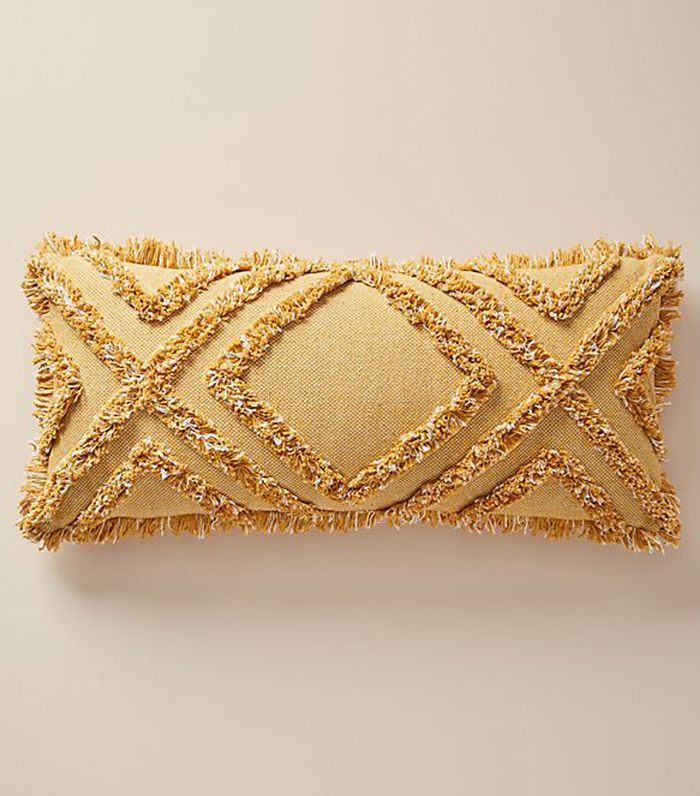 Anthropologie Textured Correll Pillow