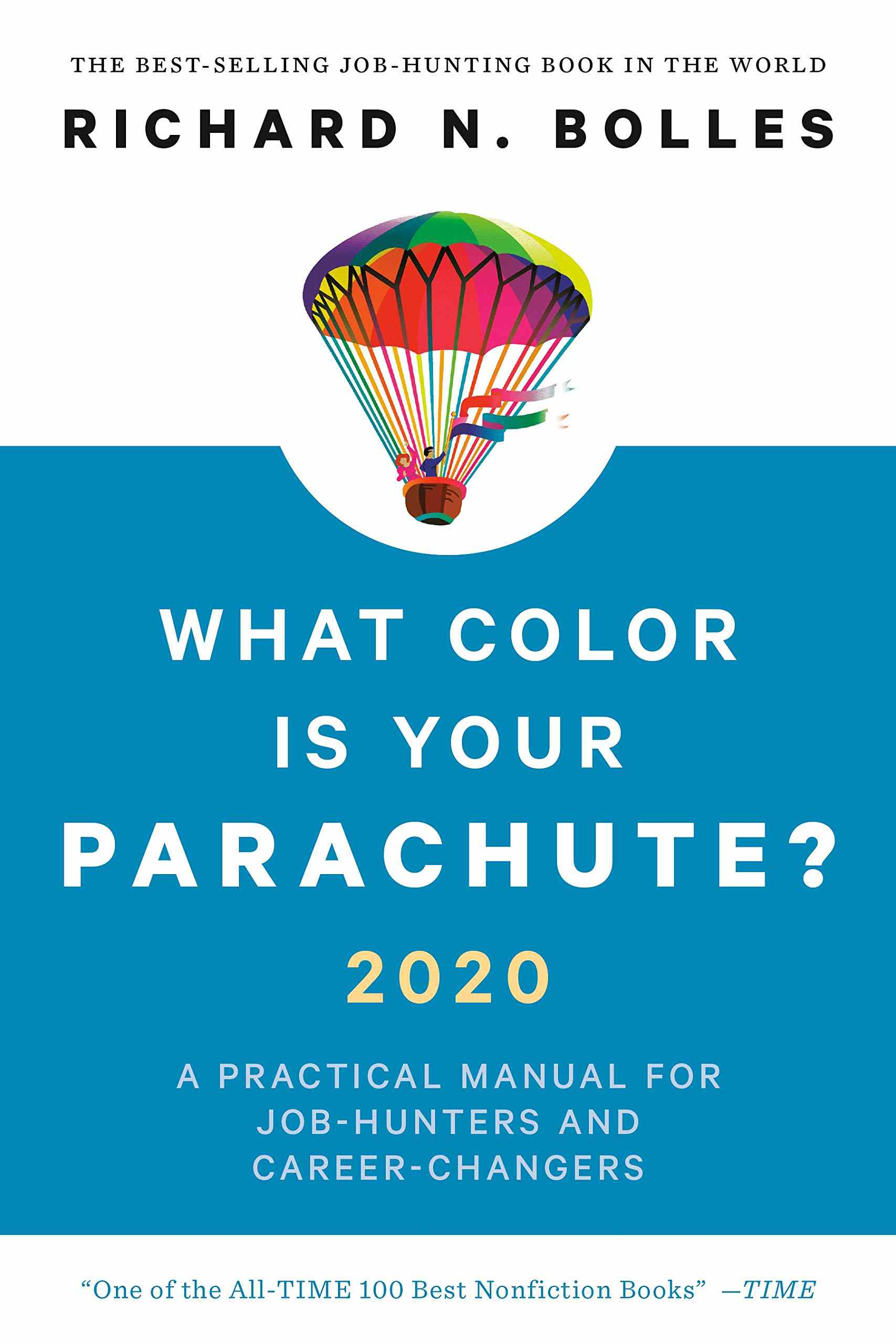 A book cover entitled, What Color is Your Parachute?