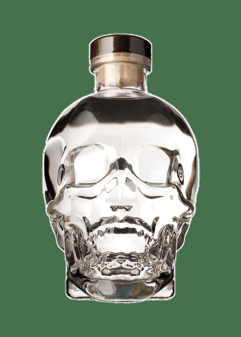 vodka con cabeza de cristal