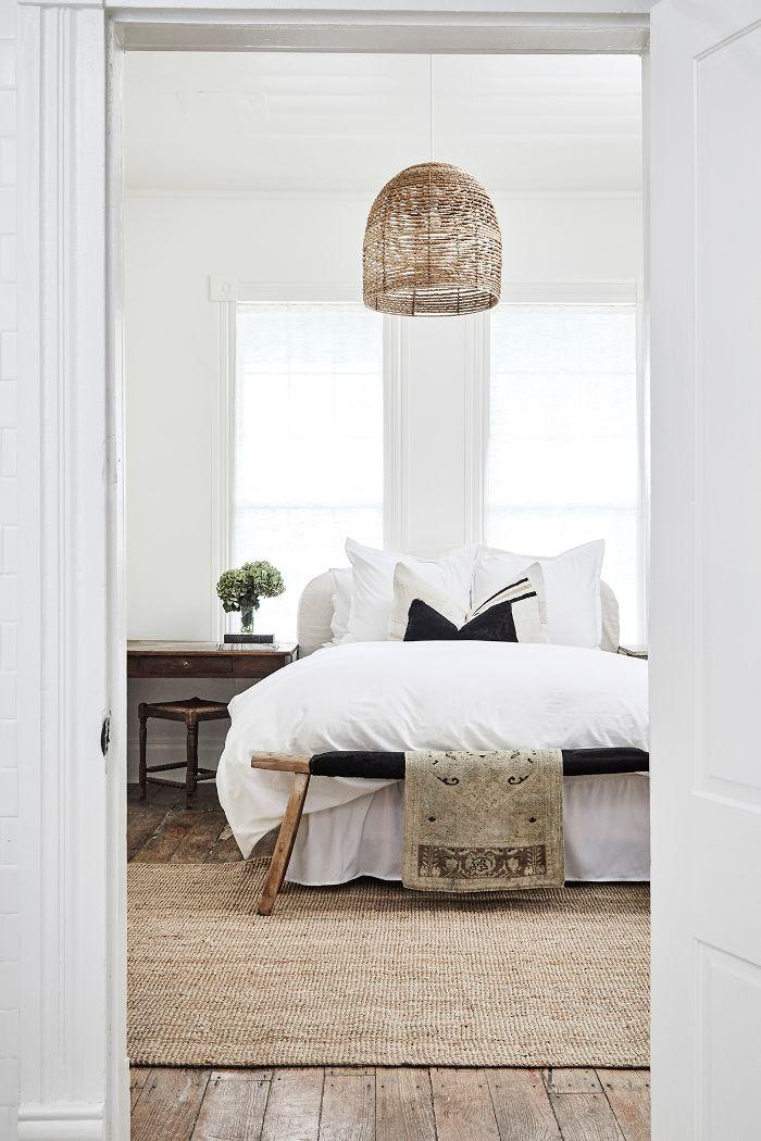 modern farmhouse bedroom—Round Top