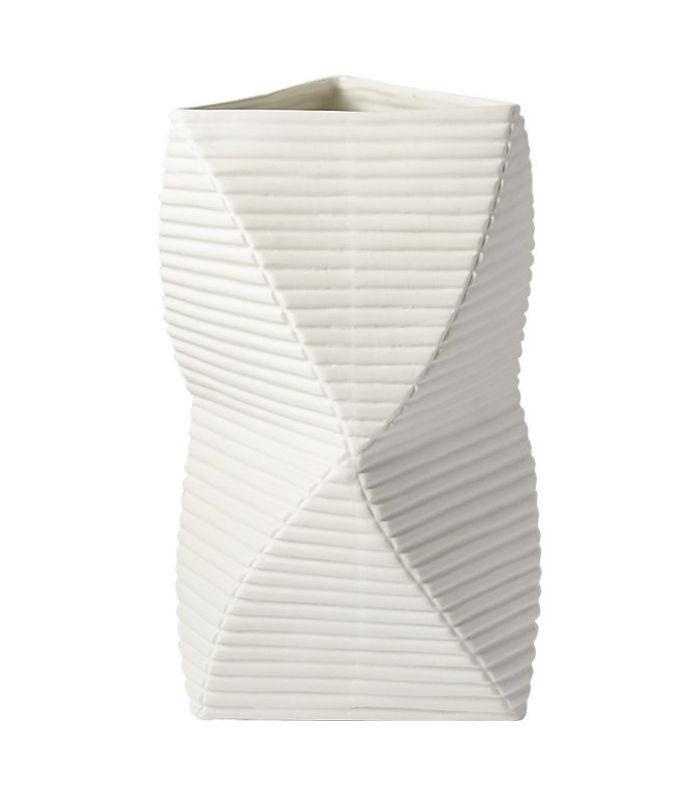 Dax White Vase