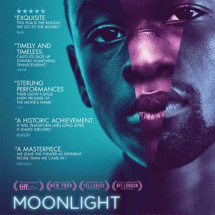 Moonlight movie poster.