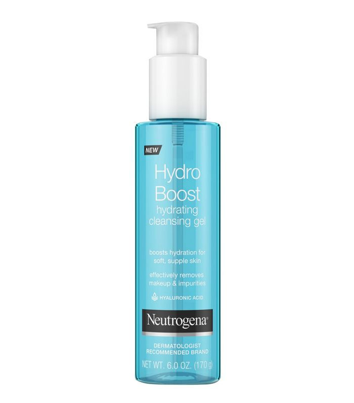 Neutrogena Hydro Boost Hydrating Hyaluronic Acid Cleansing Gel Best skincare products for 40 year olds