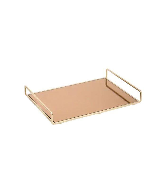 Fringe Rose Gold Blank Square Tray