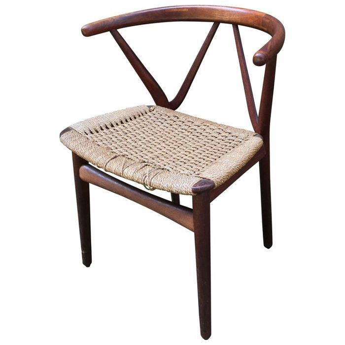 Henning Kjærnulf for Bruno Hansen Model 255 Teak Chair
