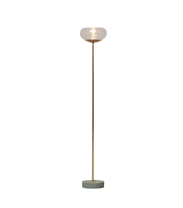 Katia Floor Lamp - Gold One Size at Urban Outfitters
