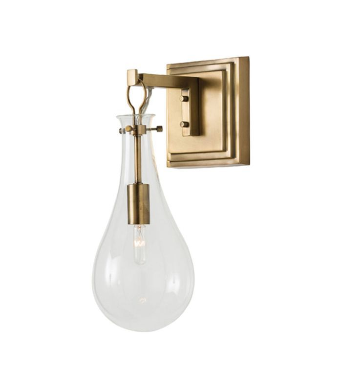 Lulu and Georgia Eberta Sconce in Brass