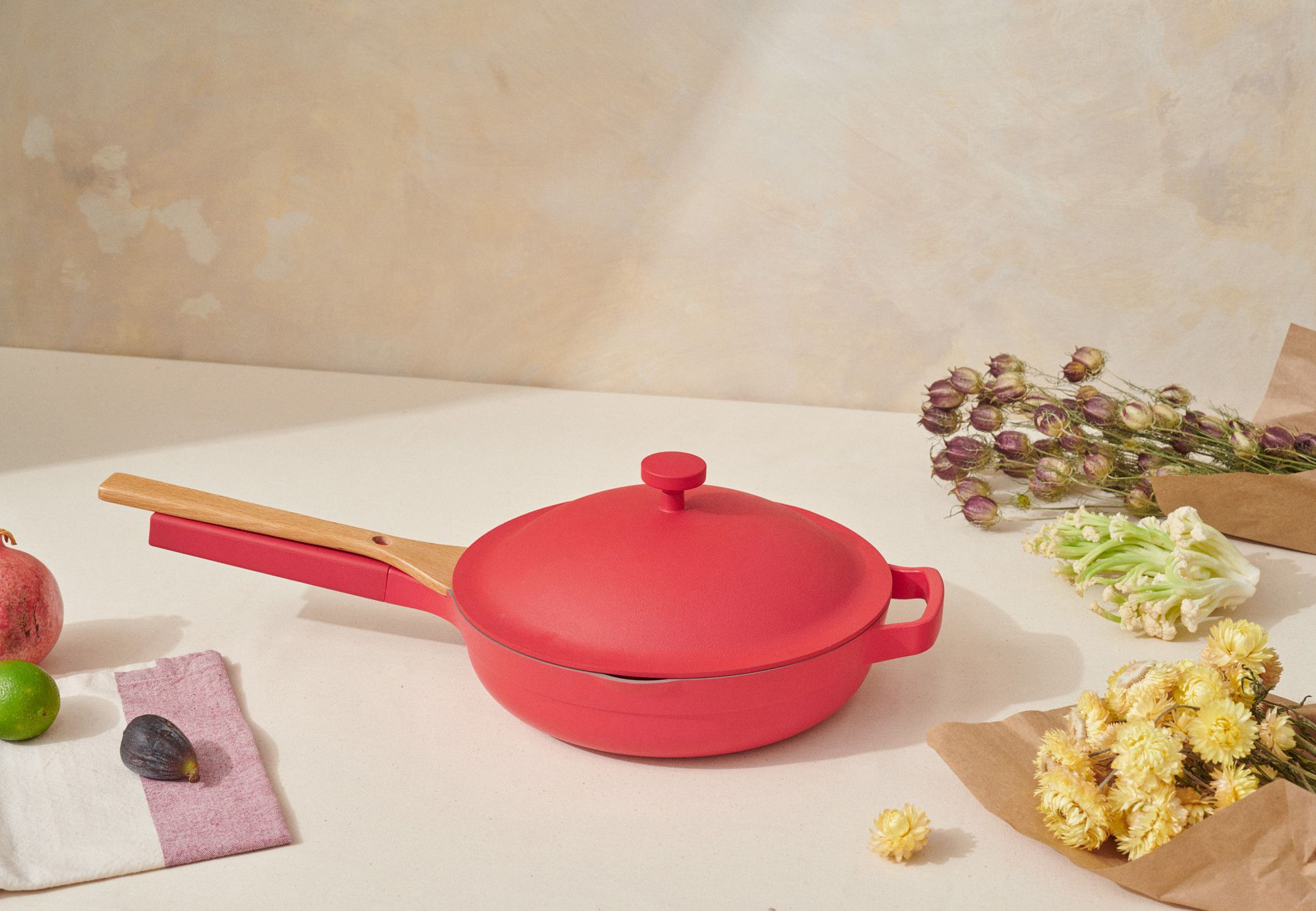 Here's Your First Look Into Our Place's Always Pan Red Hot Bundle