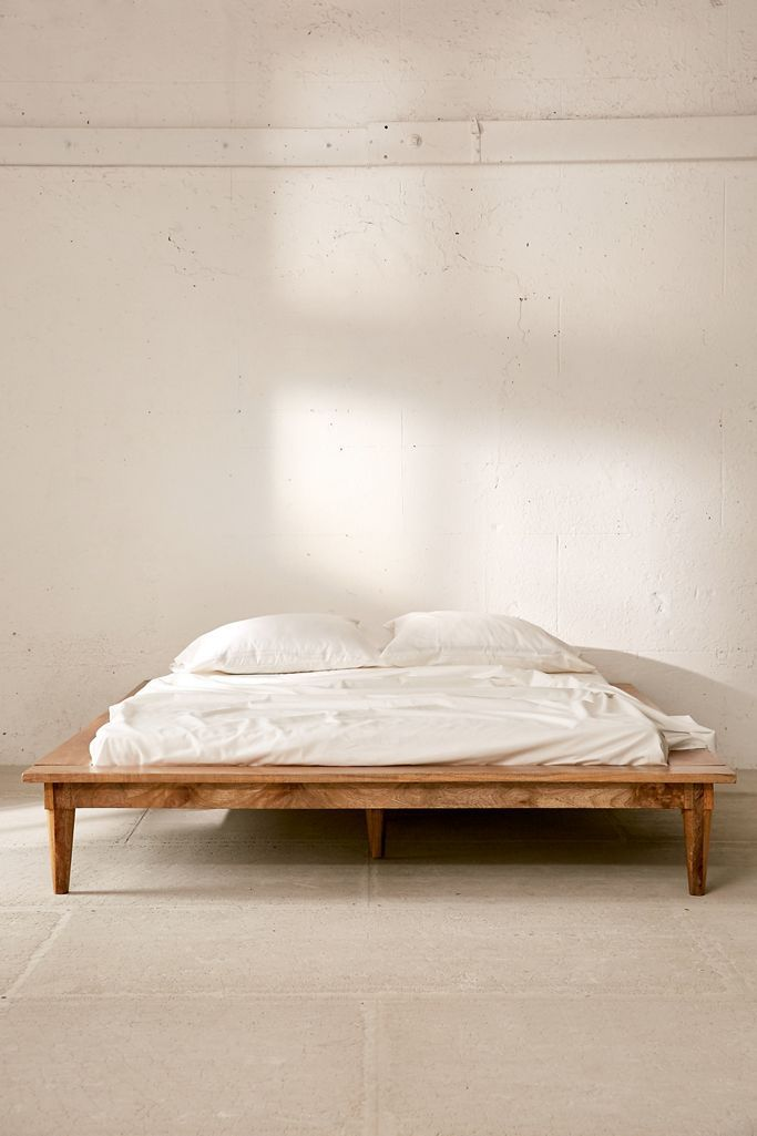 Amelia Platform bed product photo.