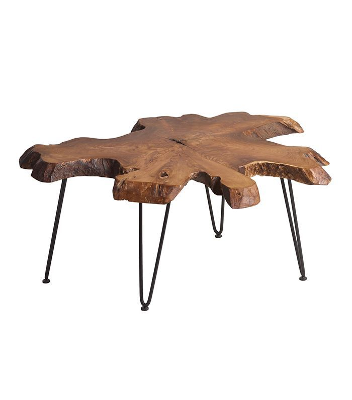 Wood Slice Coffee Table: Brown by World Market