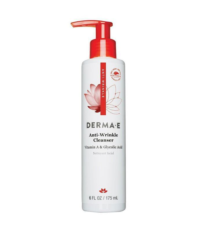 Derma E Anti Wrinkle Vitamin A Cleanser (6 oz) glycolic acid face washes