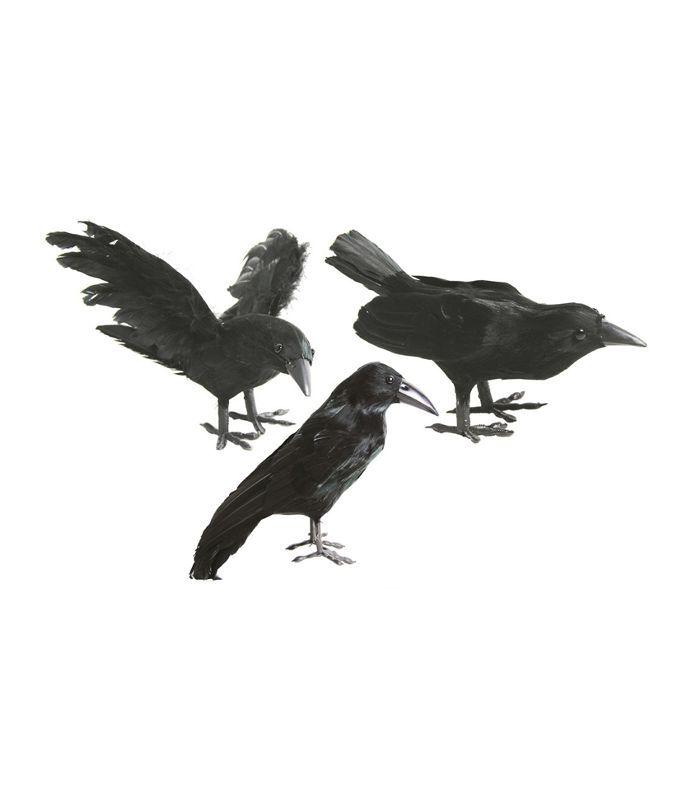 Hyde and Eek! Boutique Halloween DIY Crow Figural Cheap Halloween Decor