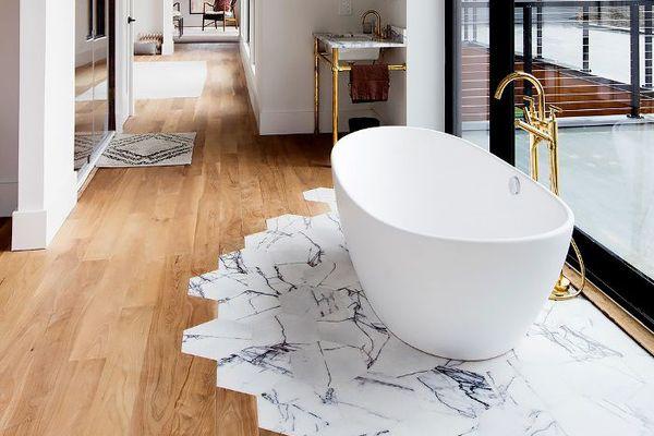Contrast floors