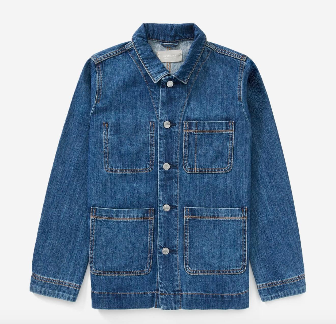 Everlane Women's Denim Chore Jacket