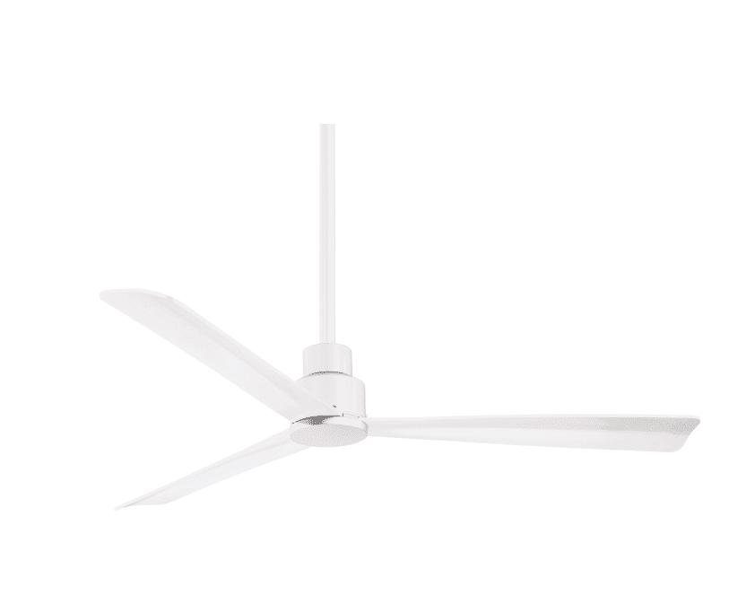 """Simple 52"""" 3 Blade Indoor / Outdoor Ceiling Fan"""