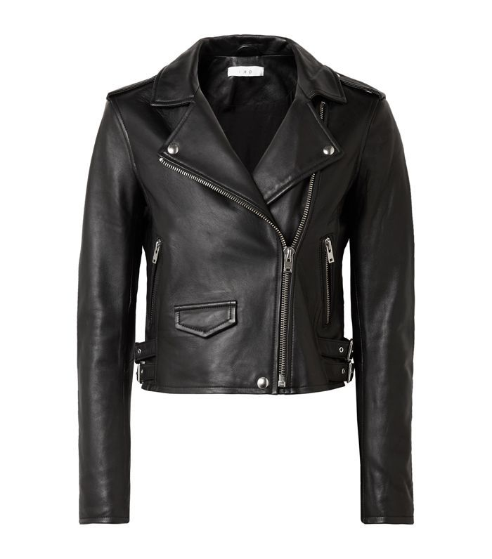 Ashville Leather Biker Jacket