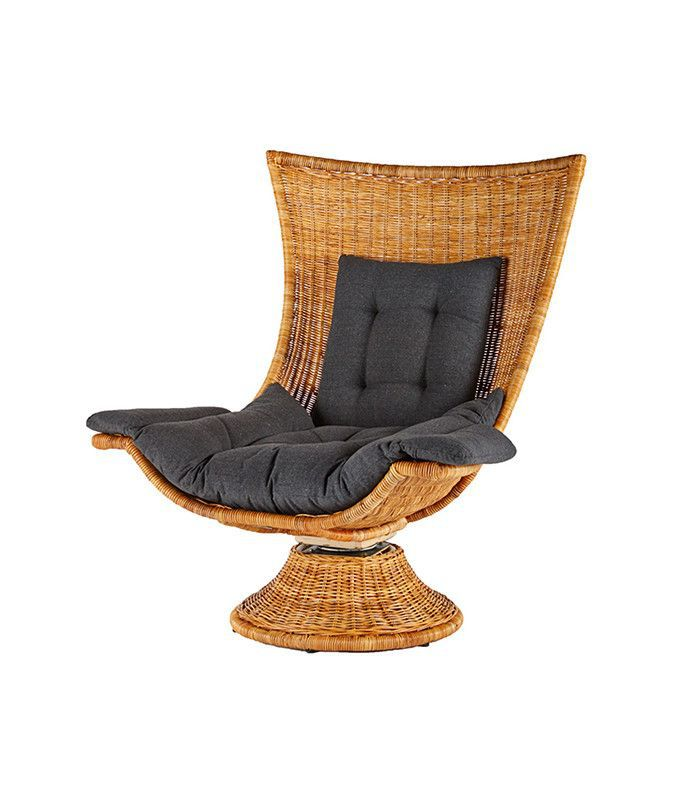 Lulu & Georgia Swivel Chair, Chestnut