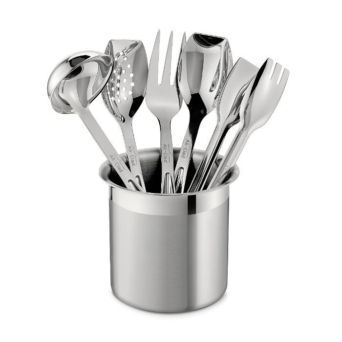 All Clad Stainless Steel Cook & Serve 6-Piece Tool Set