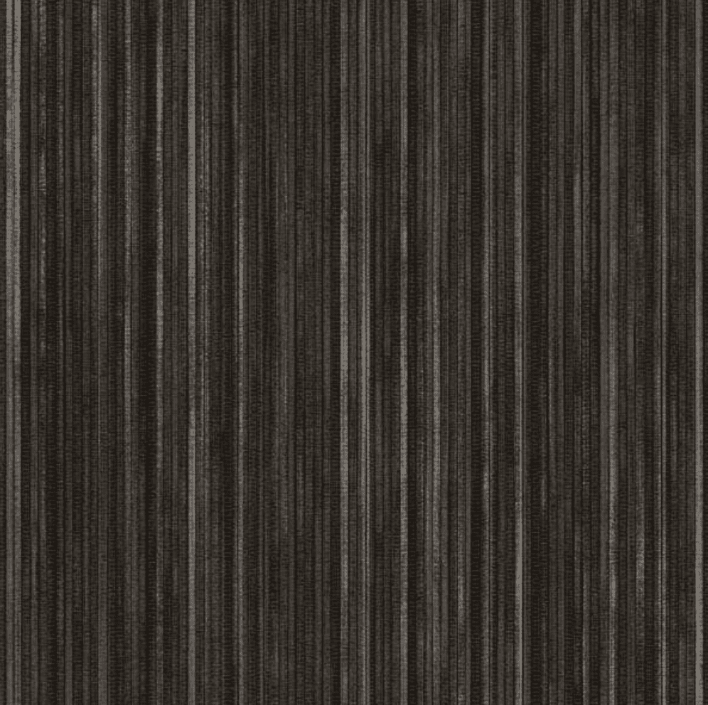A swatch of black grasscloth wallpaper, currently for sale at Home Depot