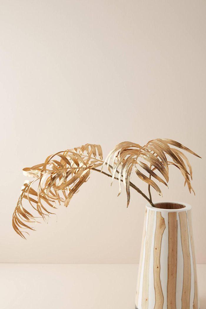 Golden Palm Faux Foliage