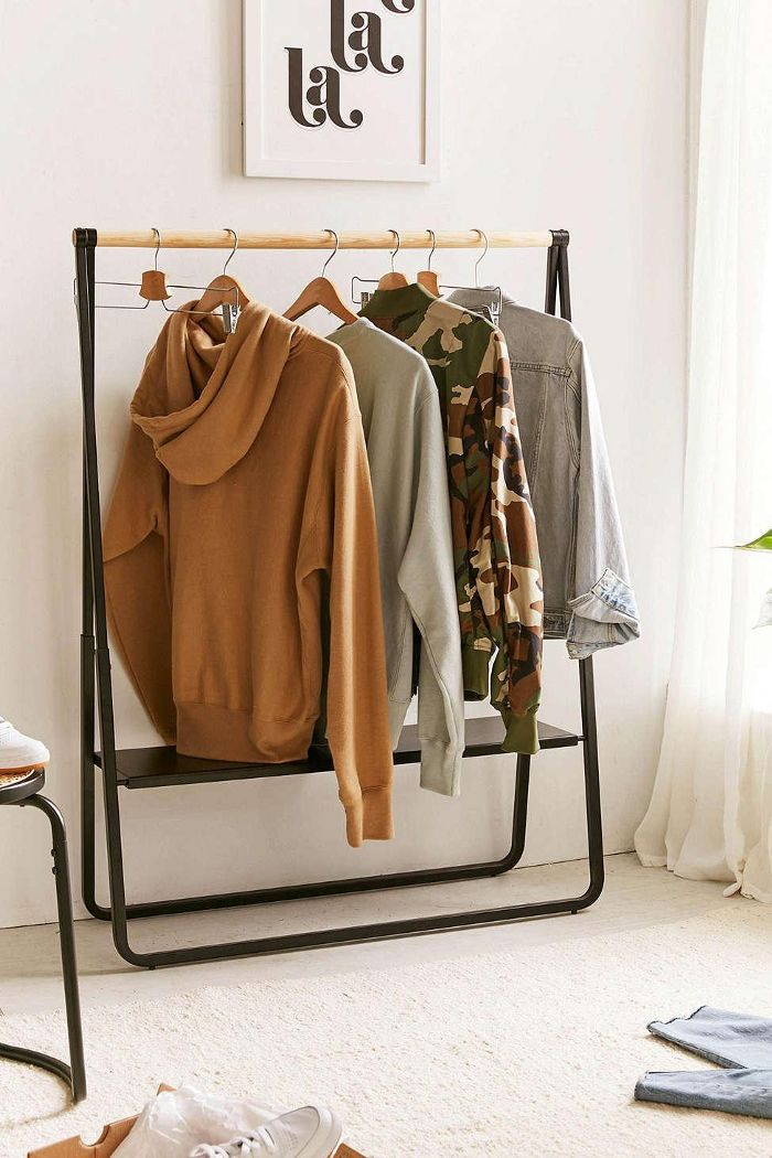 Cameron Low Clothing Rack