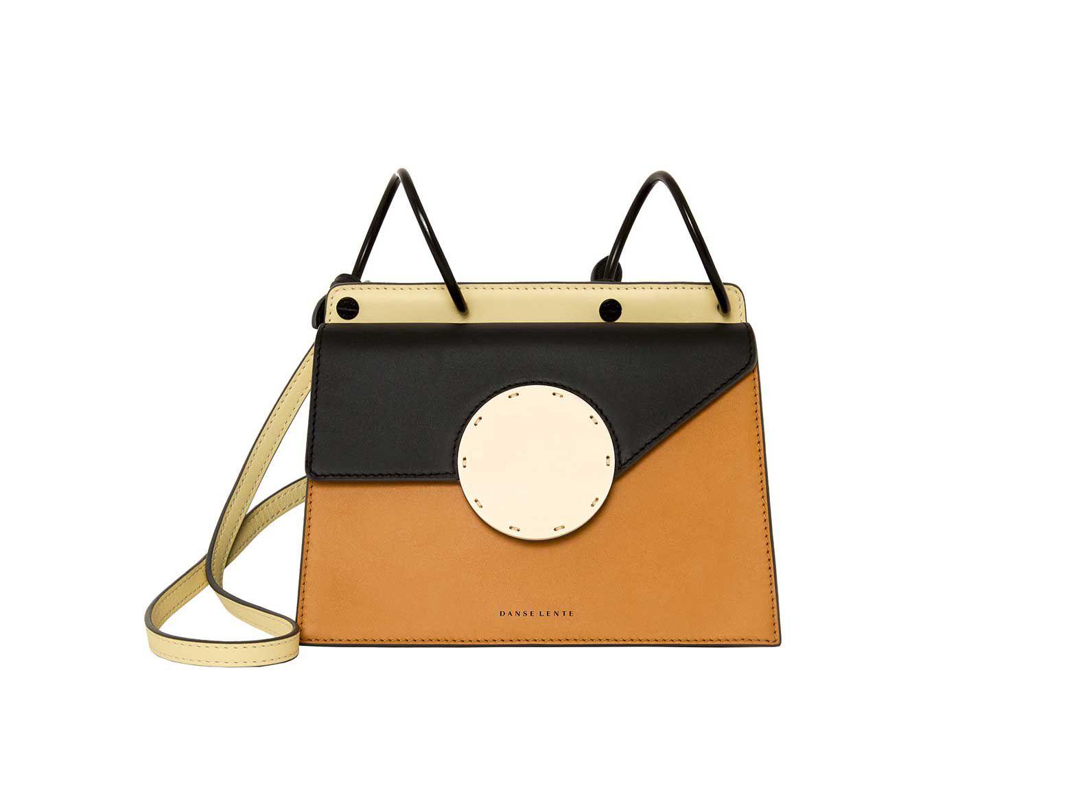 Danse Lente Phoebe Bis Coffee & Black Bag