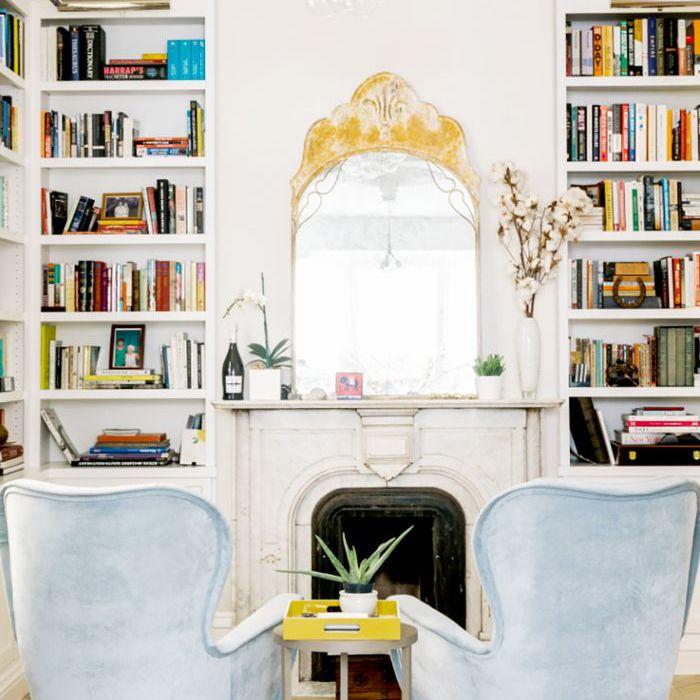 pequeñas ideas de espejo de sala de estar