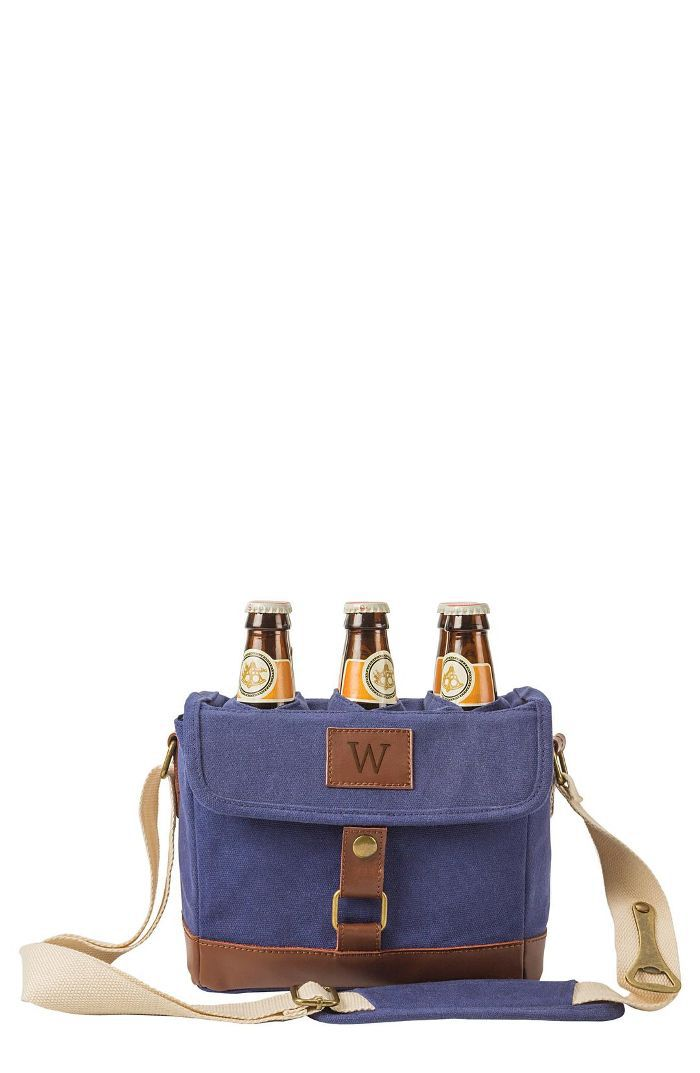 Cathy'S Concepts Monogram 6-Bottle Beer Cooler Daytime Date Ideas