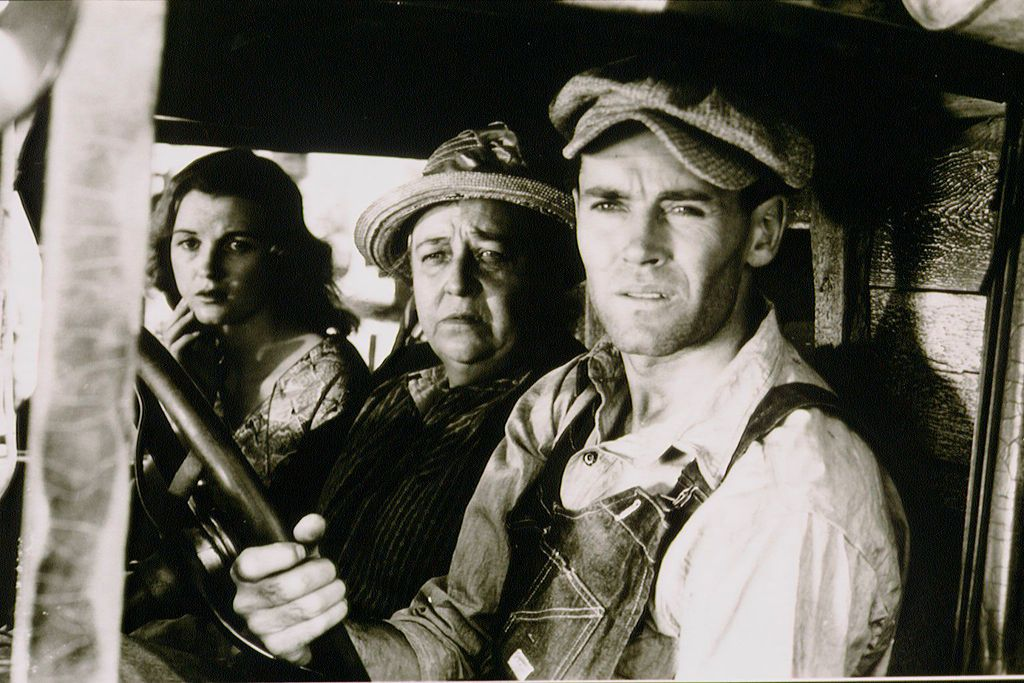 best black and white movies - grapes of wrath