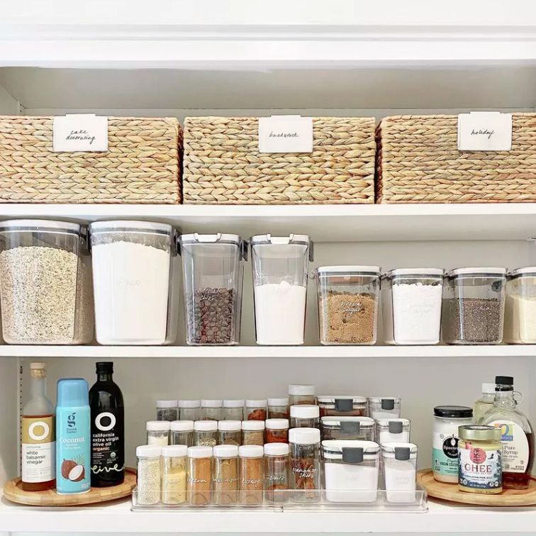 pantry kitchen organization
