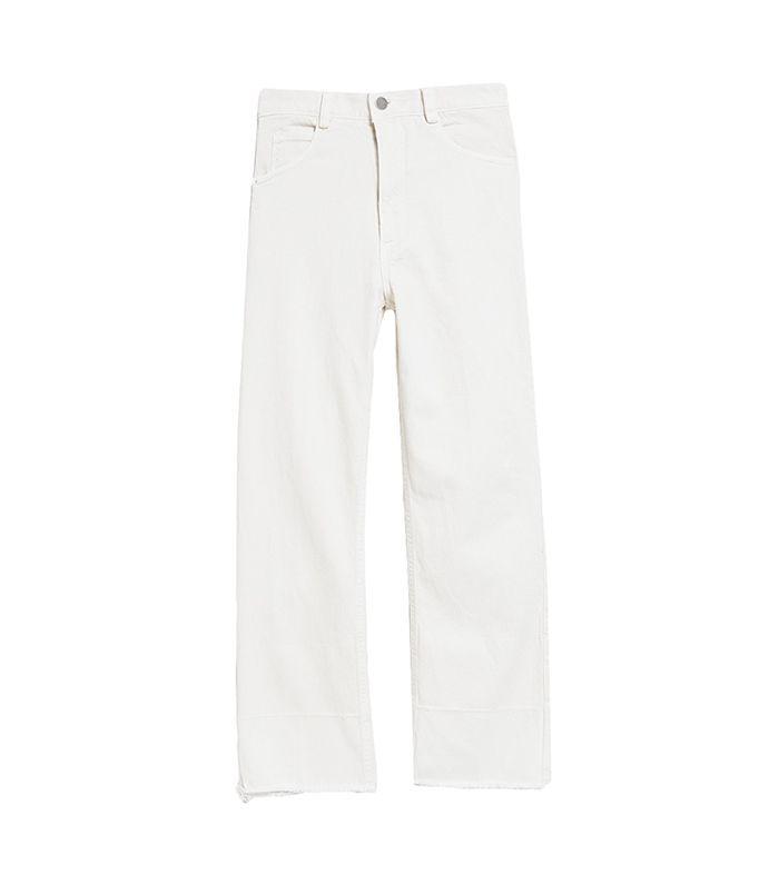 Slim Legion Pant in Dirty White