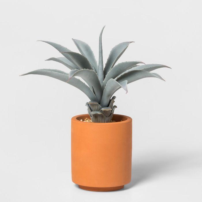 Project 62 Artificial Aloe Plant in Terra Cotta Pot