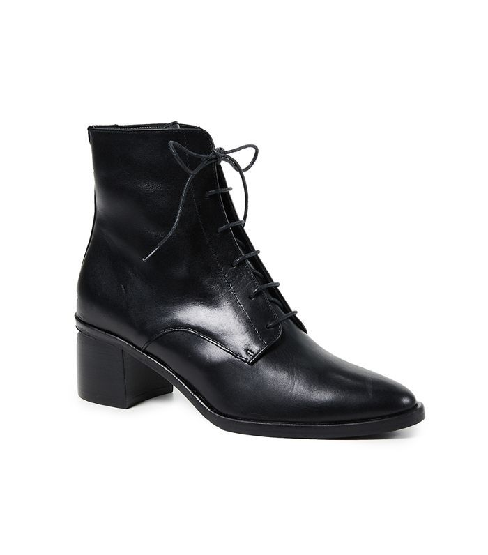 The Ace Lace Up Booties