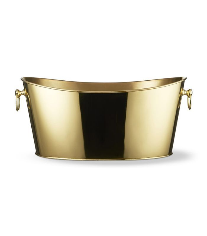 Large Gold Party Tub