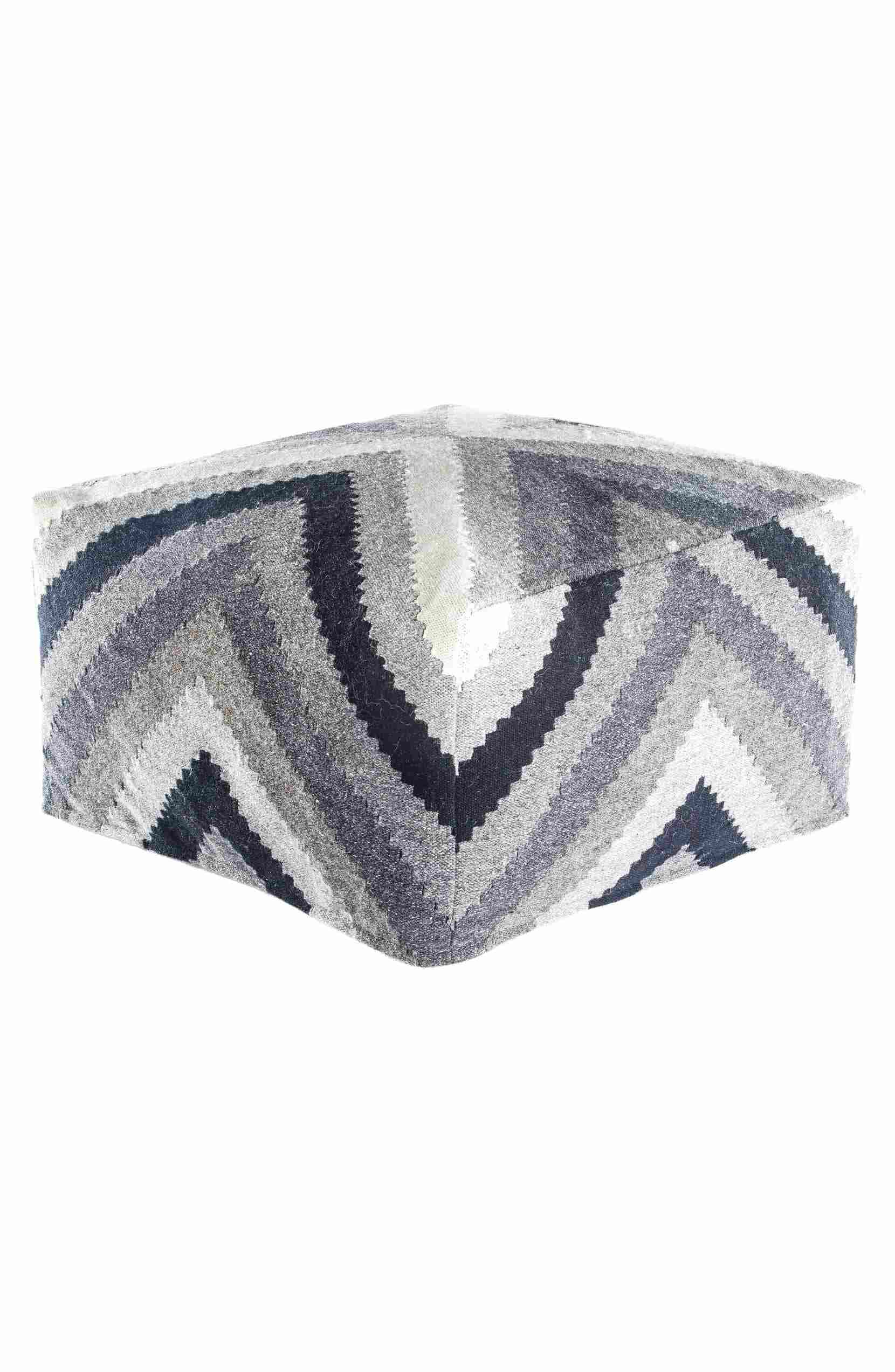 Diamond Dove Pouf