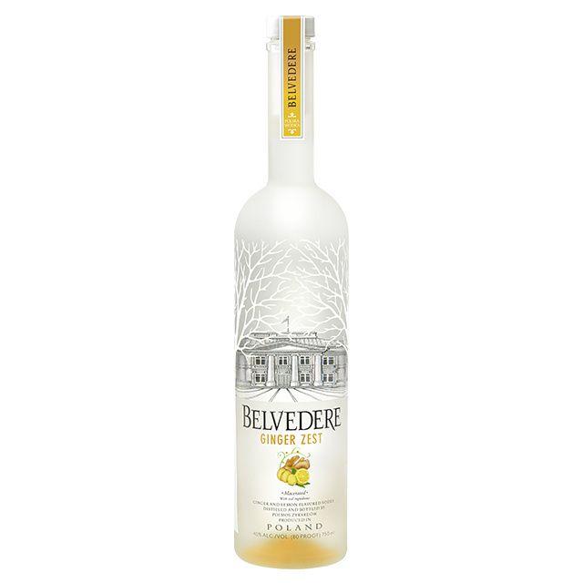 Bottle of vodka.