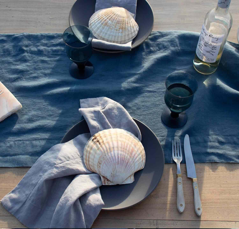 Rough Linen Orkney Linen Table Runner