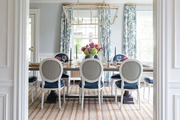 Makeover of the Week - K + K Interiors Updated Traditional Dining Room