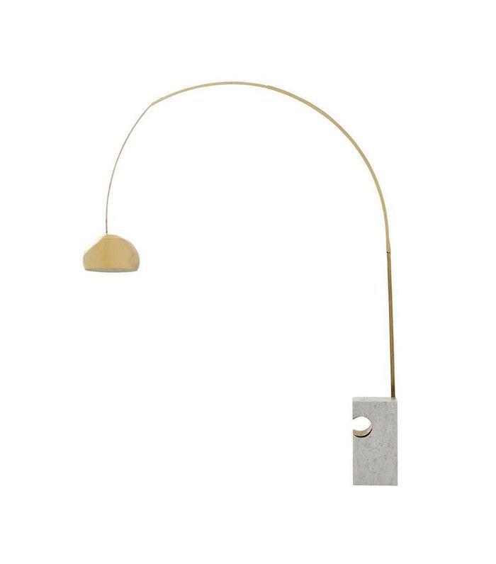 1stDibs Vintage Brass Arc Floor Lamp