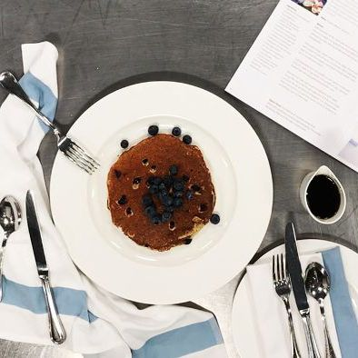This Top Chef's Healthy Blueberry Pancakes Recipe Takes Minutes to Make