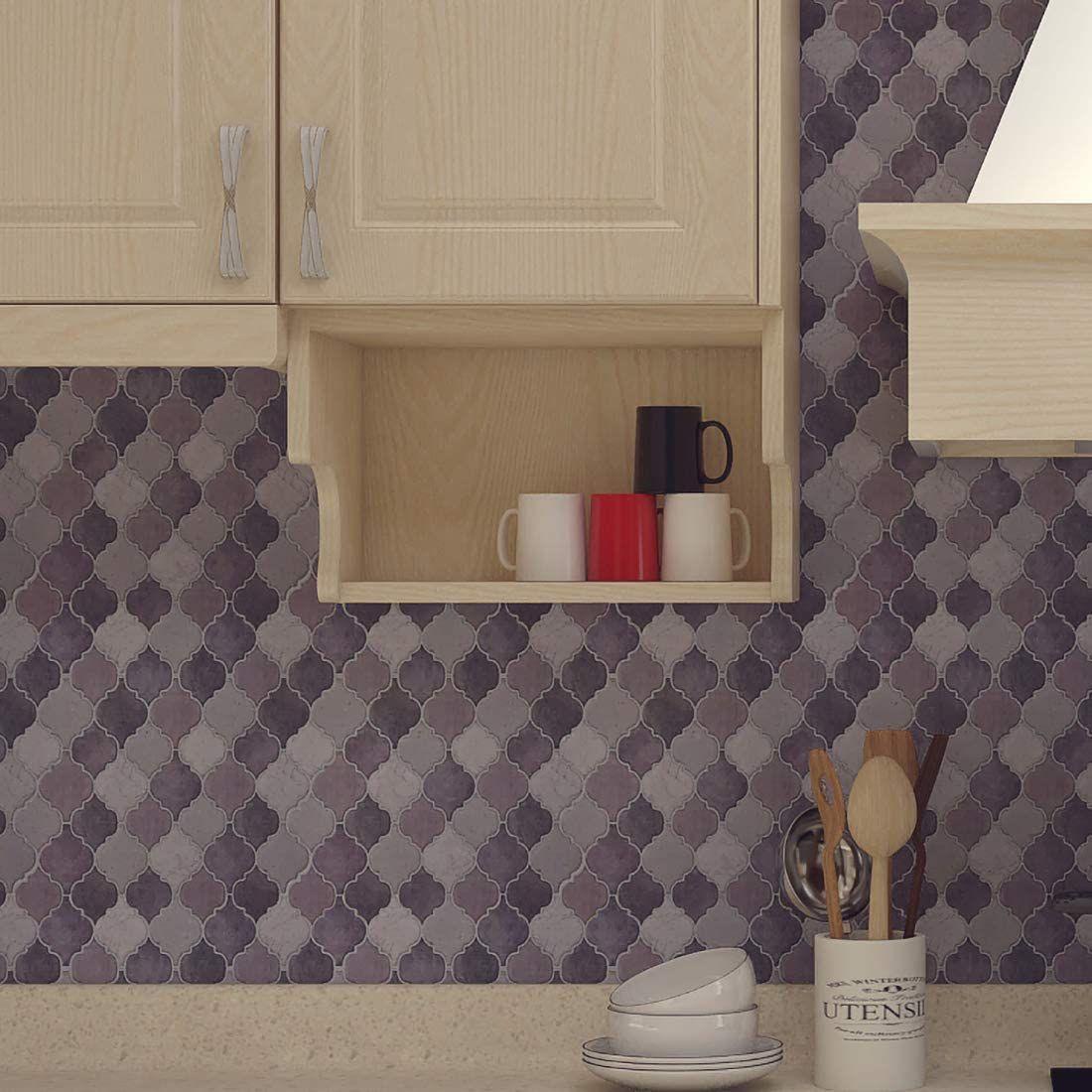 LONGKING Arabesque Tile Backsplash - Amazon