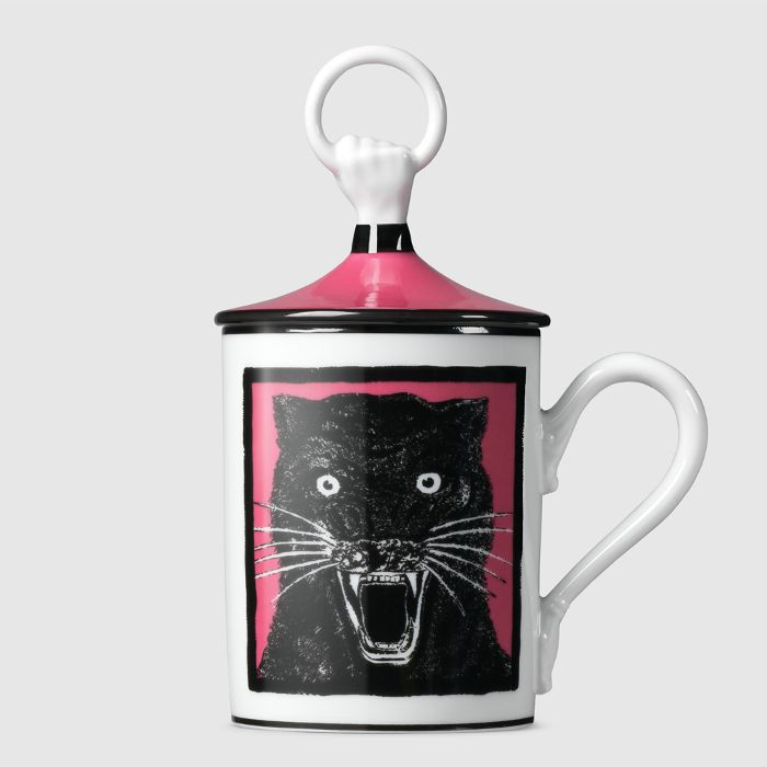 Gucci Panther Hand and Ring Mug
