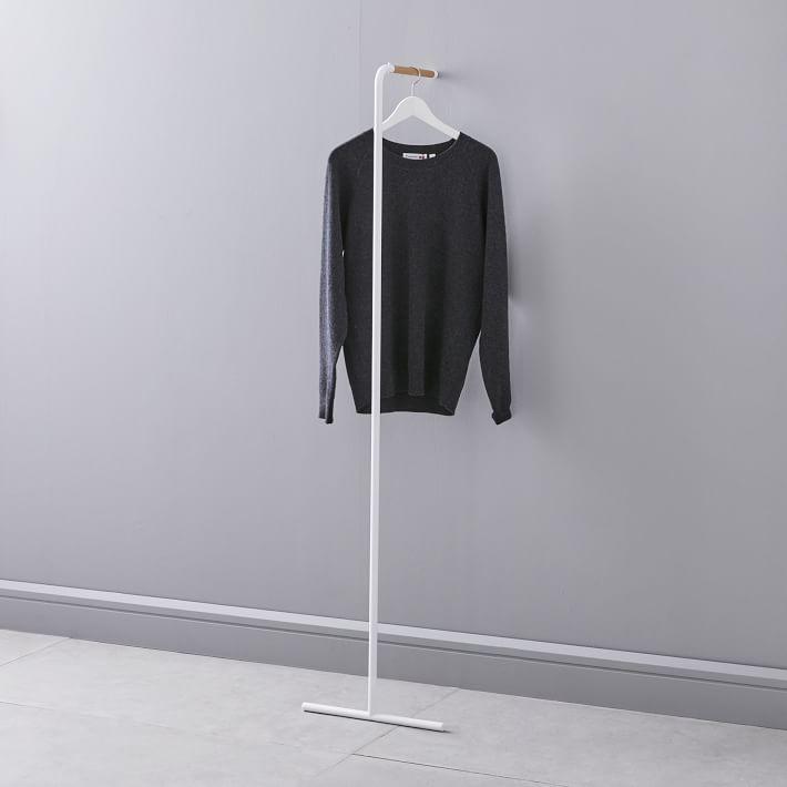 Leaning Coat Hanger
