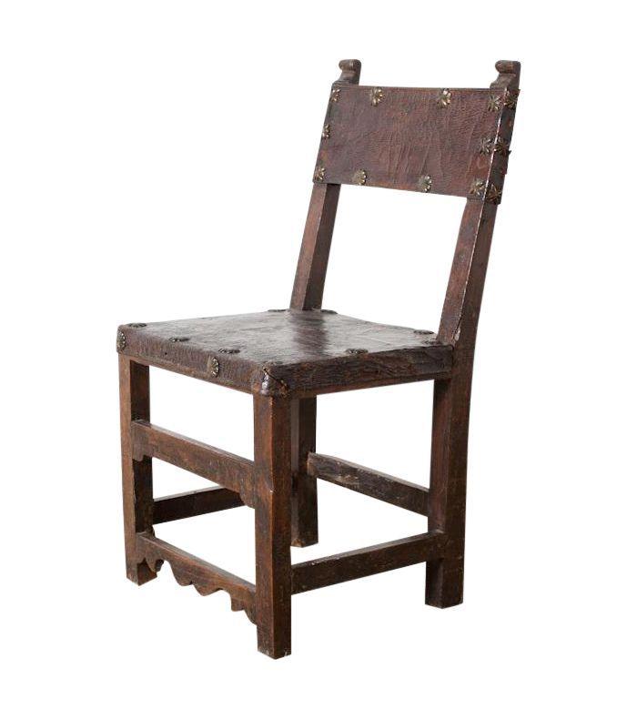 Chairish Vintage Spanish Chair 675