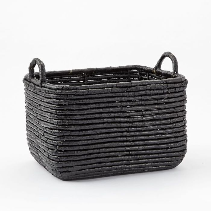 West Elm Woven Seagrass Baskets